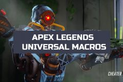 APEX LEGENDS UNIVERSAL MACROS - х7, bloody [NO RECOIL]