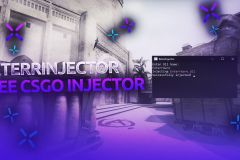 ExterrInjector - CS:GO injector working on the trusted mode