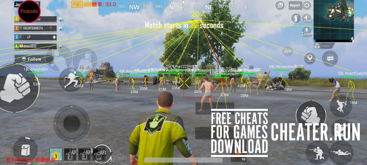 1606486888 pubg mobile cheat - Use more features in the game and surprise your friends. Take only the top positions, collect the best loot and much more. - Free Game Hacks